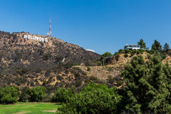 HOLLYWOOD, LOS ANGELES Royalty Free Stock Photos