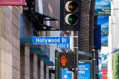 Hollywood, Los Ángeles Fotografía de archivo