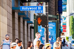 Hollywood, Los Ángeles Imagen de archivo libre de regalías