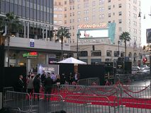 Hollywood Movie Premiere Royalty Free Stock Photo