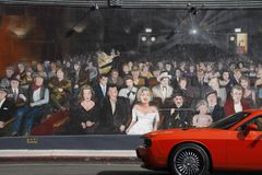 Hollywood Mural-usted es la estrella Fotografía de archivo libre de regalías