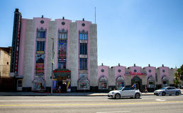 Hollywood museum royaltyfria bilder