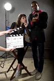 Hollywood-Produzenten Stockfoto