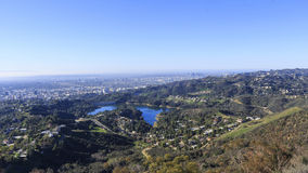 Hollywood reservoir from top Stock Images