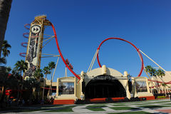 Hollywood Rip Ride Rockit at Universal Studios Stock Photography