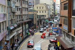 Hollywood Road, Hong Kong Island Stock Photos