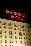 Hollywood Roosevelt Hotel Royalty Free Stock Photo