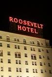 Hollywood Roosevelt Hotel Royalty Free Stock Photo