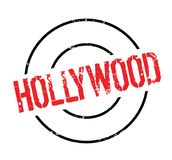 Hollywood rubber stämpel stock illustrationer