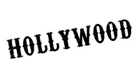 Hollywood rubber stamp Stock Photo