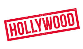 Hollywood rubber stamp Royalty Free Stock Images