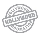 Hollywood rubber stamp Stock Photography
