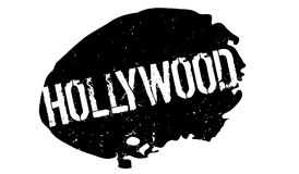 Hollywood rubber stamp. Grunge design with dust scratches. Effects can be easily removed for a clean, crisp look. Color is easily changed Royalty Free Stock Photography