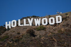 Hollywood Sign stock images
