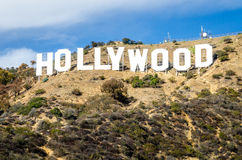 Hollywood Sign in Beaverly Hills Stock Image