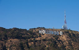 Hollywood Sign, California Stock Images