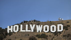Hollywood Sign stock video
