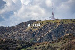Hollywood Sign In Los Angeles. Royalty Free Stock Images