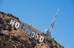 Hollywood Sign, Los Angeles Stock Photos