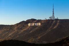 Hollywood Sign in Los Angeles Stock Photography