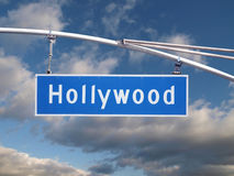 Hollywood Signage Royalty Free Stock Photos
