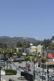 Hollywood signent dedans le califorinia de Los Angeles Images stock