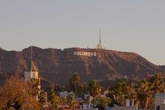Hollywood signent dedans Hollywood, Los Angeles, la Californie image libre de droits