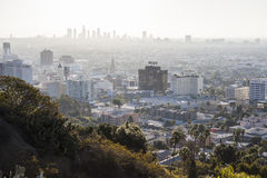 Hollywood Smog Stock Images
