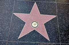 Hollywood Star stock image