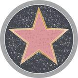 Hollywood stjärna Arkivfoton