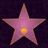 Hollywood stjärna stock illustrationer