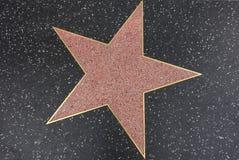 Hollywood stjärna arkivbild