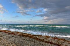 Hollywood strand - Florida arkivbild