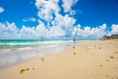 Hollywood strand Florida royaltyfria foton