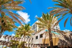 Hollywood strand Florida royaltyfria bilder