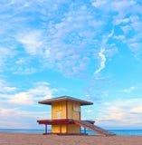 Hollywood strand Florida, USA royaltyfria bilder