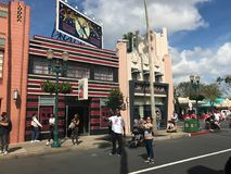 Hollywood studior, Orlando, Florida royaltyfri fotografi