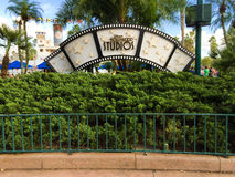 Hollywood Studios film sign. Royalty Free Stock Photos