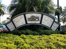 Hollywood studiotecken royaltyfria foton