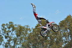 Hollywood Stunt Driver 2 show in Movie World Gold Coast. GOLD COAST, AUS -  NOV 06 2014:Hollywood Stunt Driver 2 in Movie World Gold Coast Queensland Australia Stock Images