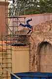 Hollywood Stunt show in Movie World Gold Coast Stock Images