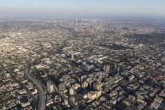 Hollywood Summer Afternoon Aerial Stock Photos