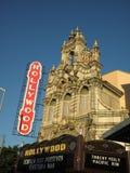 Hollywood teaterfasad, Portland ELLER bild 2 royaltyfri fotografi