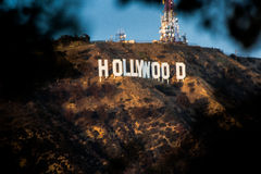 Hollywood tecken Royaltyfri Bild