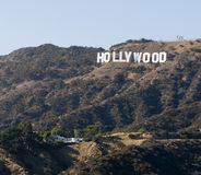Hollywood tecken, Los Angeles, Kalifornien royaltyfri fotografi