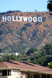 Hollywood tecken, Los Angeles, USA arkivbild