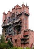Hollywood torn av skräcken Arkivfoto