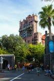 Hollywood tornhotell på Disney Hollywood studior arkivbilder