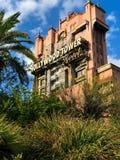 Hollywood tornhotell på studior för Disney ` s Hollywood Arkivbild