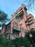 Hollywood tornhotell på studior för Disney ` s Hollywood arkivbilder